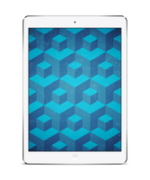 Hexagon Wall for iPad + iPhone by tripiatrik