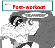 30 Days muscle challenge - relaxing by astaroth90