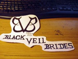 BVB Logo and Name Veiw 2 - My Desk by Gothic-Rebel