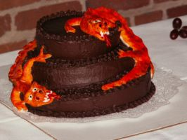 Dragon Cake by bolboda