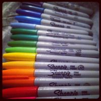 For the love of Sharpie!! by iluvsparkles