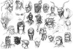 Old Drawings - caricatures by ButtZilla