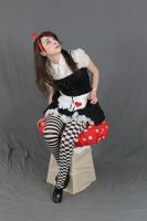 Dark Alice in wonderland 19 by MajesticStock