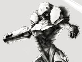 SamusAran Example by mikeman143