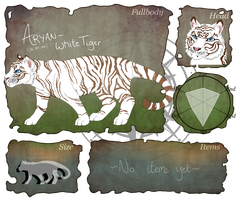 IOS: Arion the White Tiger Application by Apocalyptic-Angell