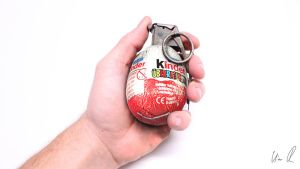 You are what you eat: The Eggrenade by TheKiromancer