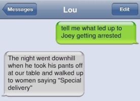 Why Joey got arrested by misspuggsley21