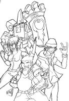 Megas XLR by regulusneo