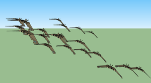 Attack formation by mastergearhead