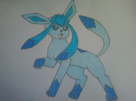 Glaceon by InvaderSkittles432