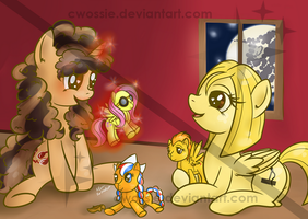 Go, Cadet Fluttershy! - HWConvention auction print by Cwossie