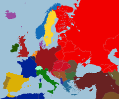 Europe after 1921 (A Greater Germany) by TiltschMaster