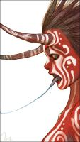 kiss by tahra