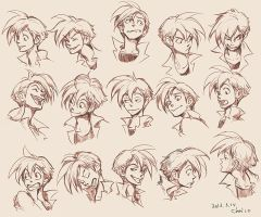 Expression Design of Panchito by chacckco