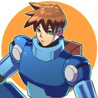 Megaman by frixinthepixel