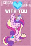 Princess Cadence Valentine Card by Evehly