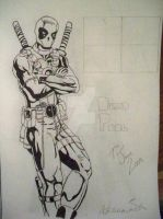 Deadpool The Merc with Mouth by Toddiie