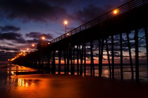 Pier of Lights by Nathan-Ruby