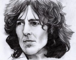 Something - George Harrison by DrawnByYou