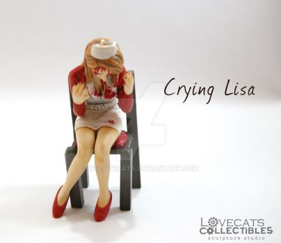 Crying Lisa by vrlovecats