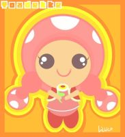 Toadette by Child-Of-Neglect