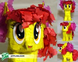 Applebloom Paper Plushie by C-quel