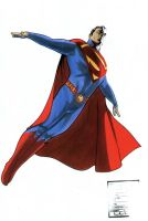 Superman Movie Suit color by BroHawk