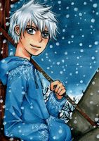 Aceo #140 Jack Frost by nayght-tsuki