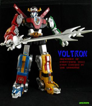 VOLTRON Defender of the Whole Entire UNIVERSE! by Unicron9