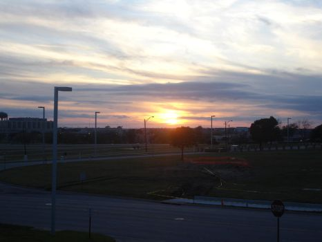 Sunset at Ft. Hood by Spartan-039