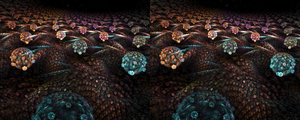 Spores 3D Stereoscope by mynameishalo
