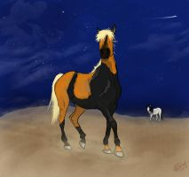 Naruto Horse by staccato