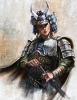 lady samurai by remlahc