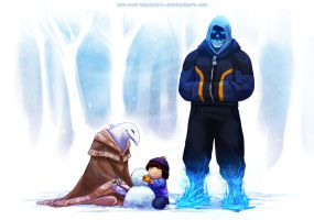 Undertale: Snow Day by Red-Sinistra