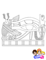 Eye of Horus by Writer-Colorer