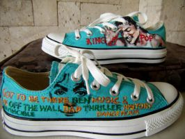 Michael Jackson on Converse by alcat2021