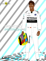Formula Disney-Naveen-Mercedes AMG driver by Hube01