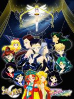 Sailor Moon Stars Poster by CAB-Art