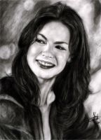 michelle monaghan by rayjaurigue