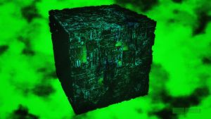 Borg Cube by Dave-Daring
