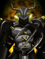 BlackWargreymon by yoliwyvern