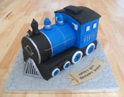 Train Cake. by RebeccaRoseBrine