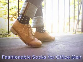 Fashionable Socks for Office Men by BTA by tonycox558