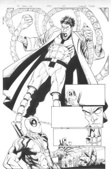 Deadpool Team-Up 890 page 20 inks by MicahJGunnell