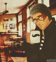 Hipster Hawkins by gating