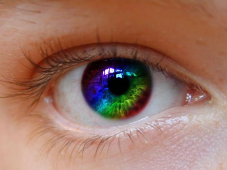my first colored eye by michaelgaudette