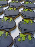 Witches' Cauldron Cookies by eckabeck