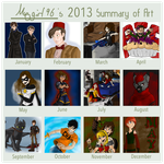 Art Summary: 2013 by Maygirl96