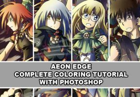Aeon Edge Coloring Tutorial by NiegeBlanc