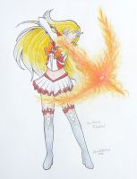 Sailor Fire Angel by sakkysa